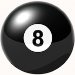 2 Inch Eight Or Black Balls