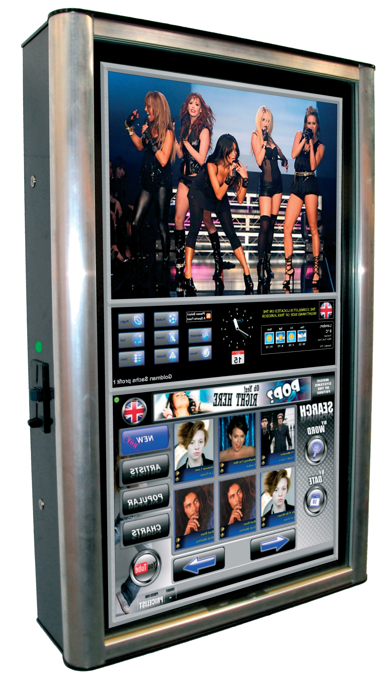 NSM Apollo Jukebox