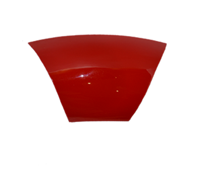 Plastic Trim (Bubbler Top Red)