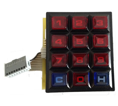 NSM Jukebox OEM Keypad