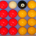 Casino Pool Ball Set  (2 Inch)