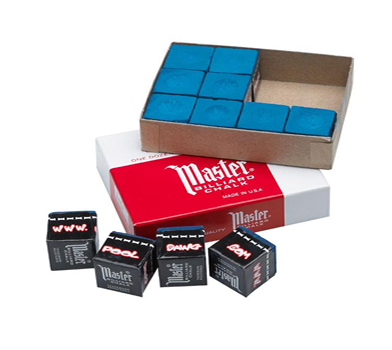 Master Pool Cue Chalk Packets