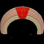 OMT 1015 Plastic Trim (Upper Door)