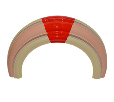 OMT 1015 Plastic Trim (Upper Door)
